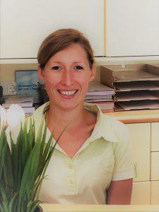 Alina Pees, Sprechstundenassistenz in der Parxis für Ganzheitsmedizin Dr. Barbara Bremer